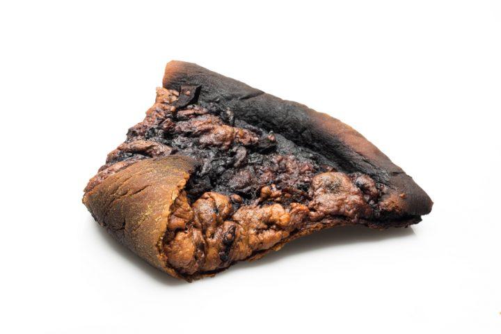 Verbrannter geruch kuche