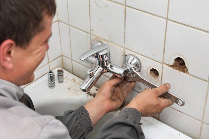 Erstaunlich Mischbatterie in der Badewannen wechseln » Anleitung JZ98