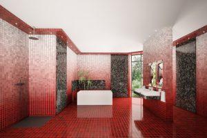 Mosaik Fliesen Dusche