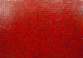 Mosaikfliesen rot