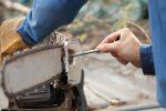 Kettensäge Ritzel wechseln