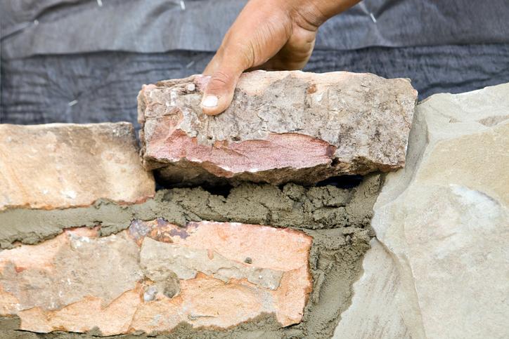 Natursteinmauer Ohne Fundament Bauen Geht Das