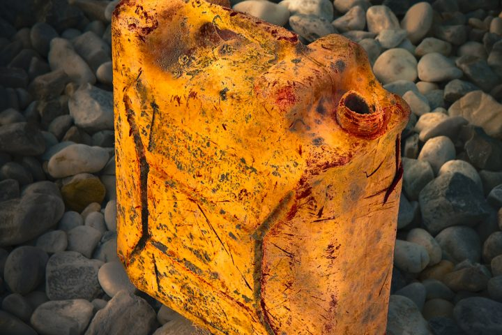 Ölkanister Müll