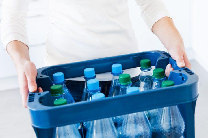 Plastikflaschen entsorgen