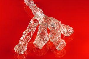 Plastikflaschen schmelzen