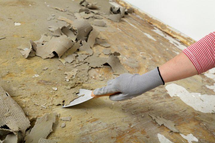 PVC Boden lösen