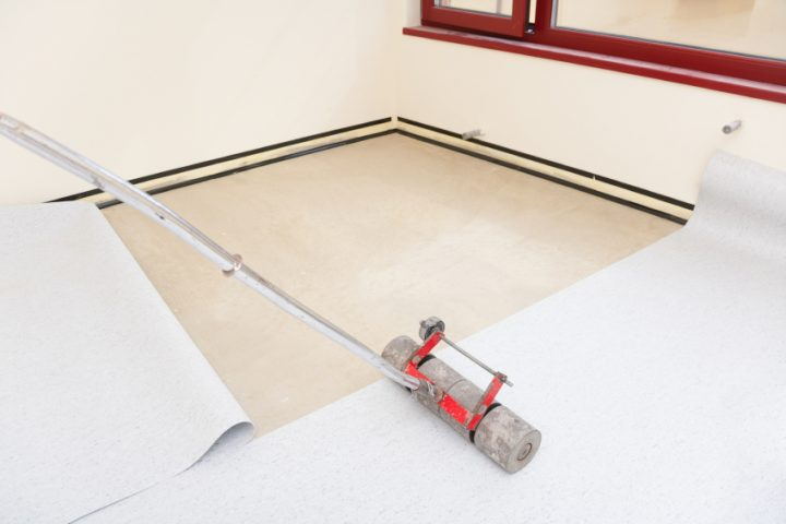 PVC Boden verlegen