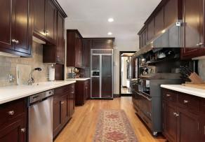 parkett in der k che worauf sie achten sollten. Black Bedroom Furniture Sets. Home Design Ideas