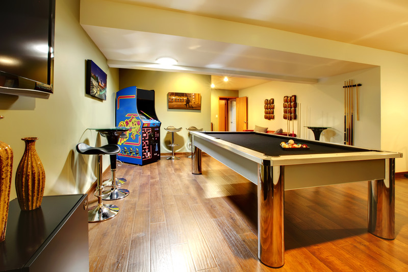 partykeller gestalten ideen f r eine tolle atmosph re. Black Bedroom Furniture Sets. Home Design Ideas