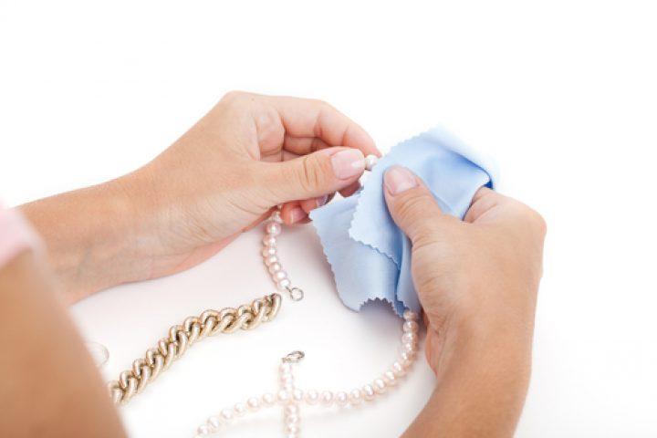Perlen säubern