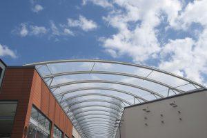 Plexiglas Dachplatten