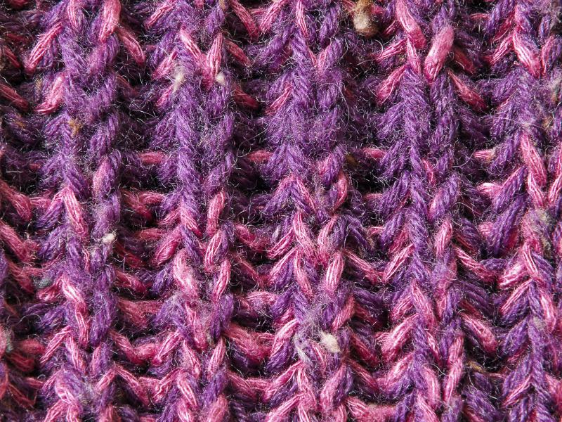 Plissee-Muster stricken » Eine kurze Anleitung