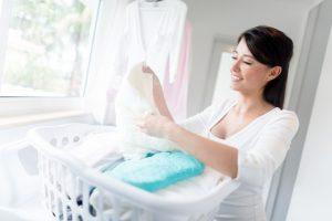 Plissee waschen