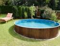Holzverkleidung für den Pool selber bauen
