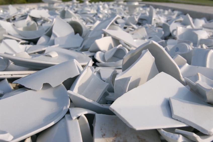 Unterschied Keramik Porzellan porzellan am polterabend zerschmettern alles zur tradition