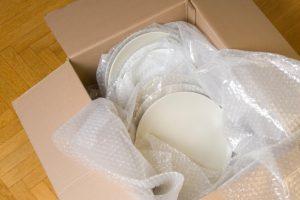Porzellan richtig verpacken