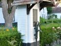 Pumpenhäuschen für die Gartenpumpe