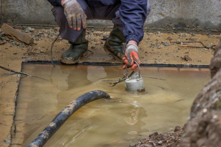 Pumpensumpf bauen