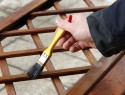 Ein Rankgitter aus Holz selber bauen