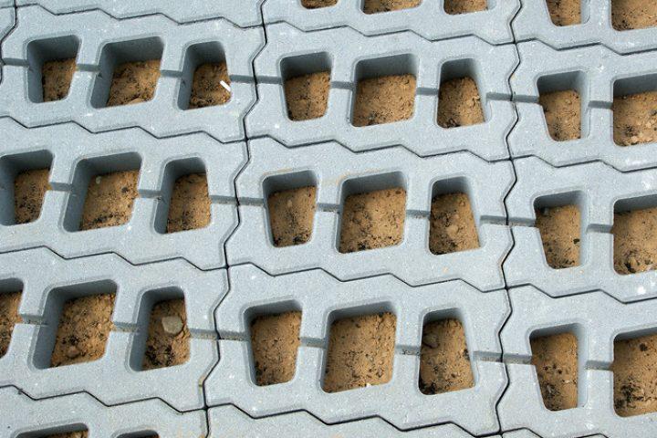 Rasengitterplatten Beton