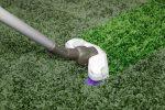 grüner Teppich reinigen
