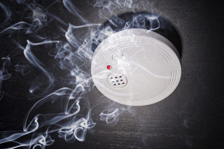 Rauchmelder der Küche