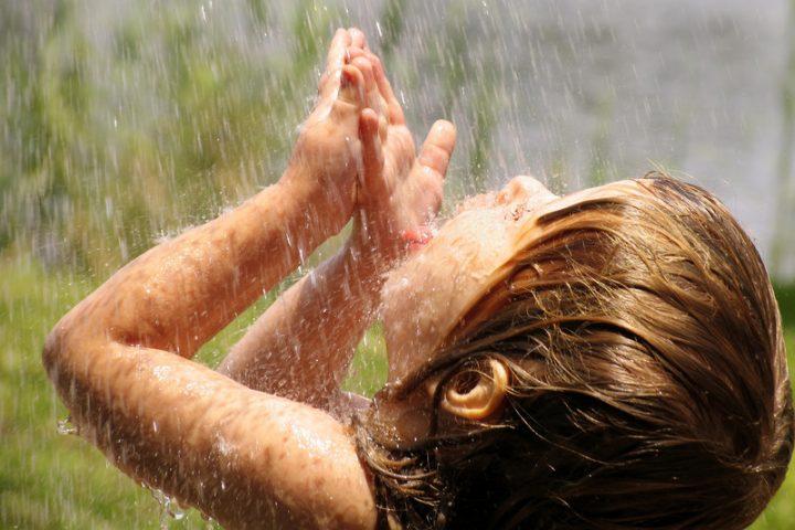 Regenwasser trinken