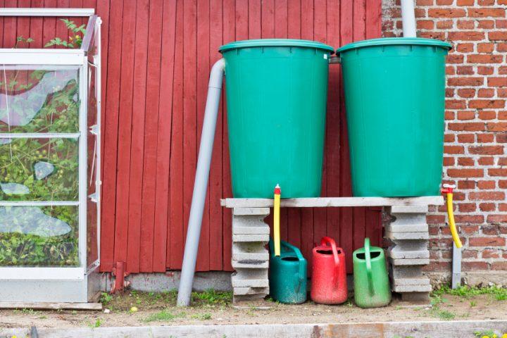 Regenwasserfilter selber bauen