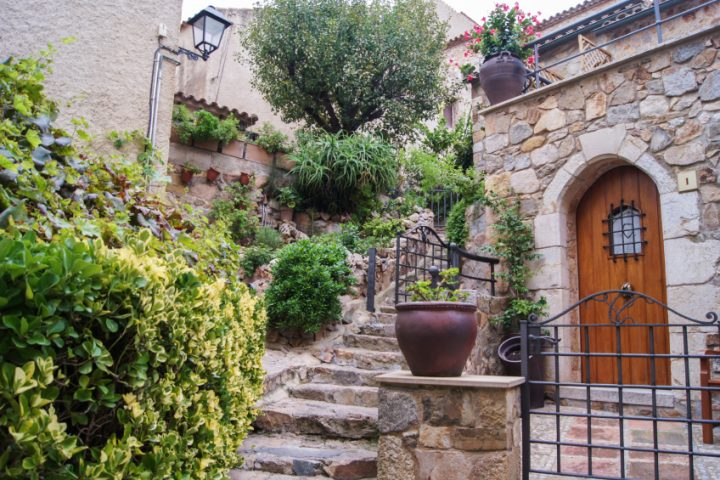 Restaurierung antiker Treppen