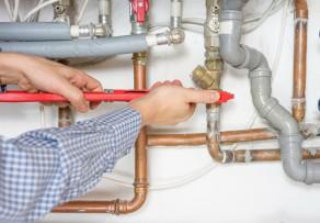 Rohrleitungen in der Hausinstallation