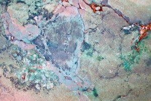 Rostiger Stein