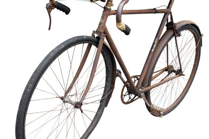 Rost entfernen Fahrrad