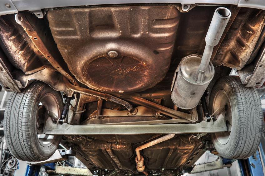 Fertige Rostentferner fürs Auto – was taugen sie?