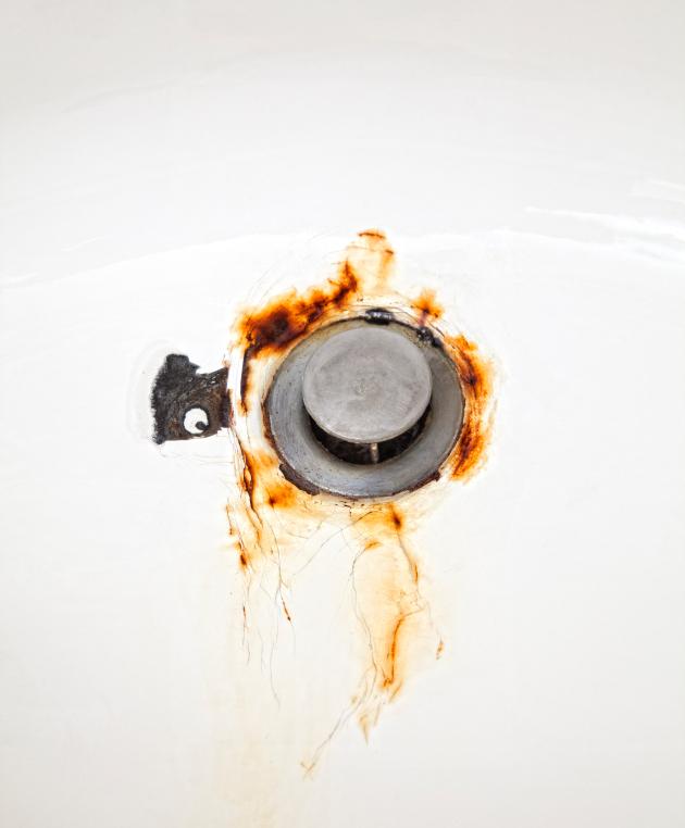 Berühmt Rostflecken in der Badewanne » So entfernen Sie sie RP27
