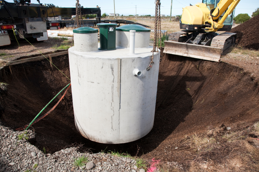 Dog Kennel Septic Tank System