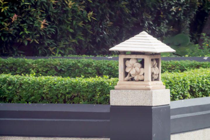 Sandstein Kunst Garten