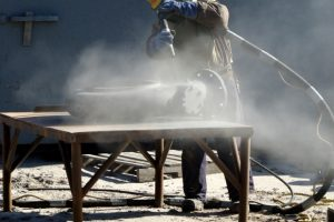Sandstrahlen selber machen