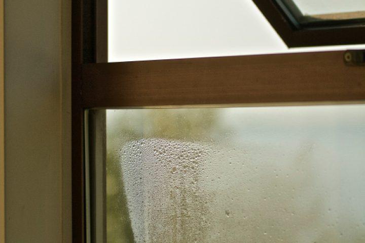 Schimmel im Fensterfalz
