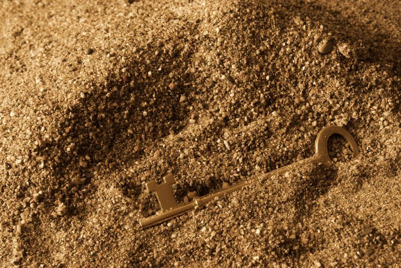 Schlüssel verloren tun