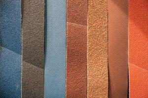 Sandpapier Unterschiede