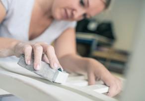 schrank abschleifen k rnung hilfsmittel. Black Bedroom Furniture Sets. Home Design Ideas