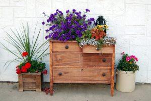 Schublade im Garten