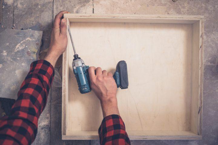 Schublade Eigenbau