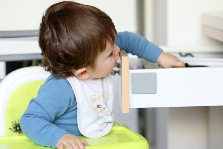 Schublade kindersicher