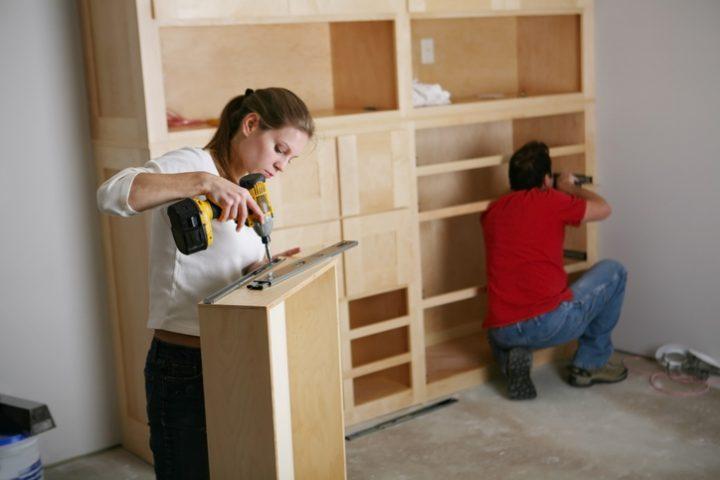 Schublade montieren