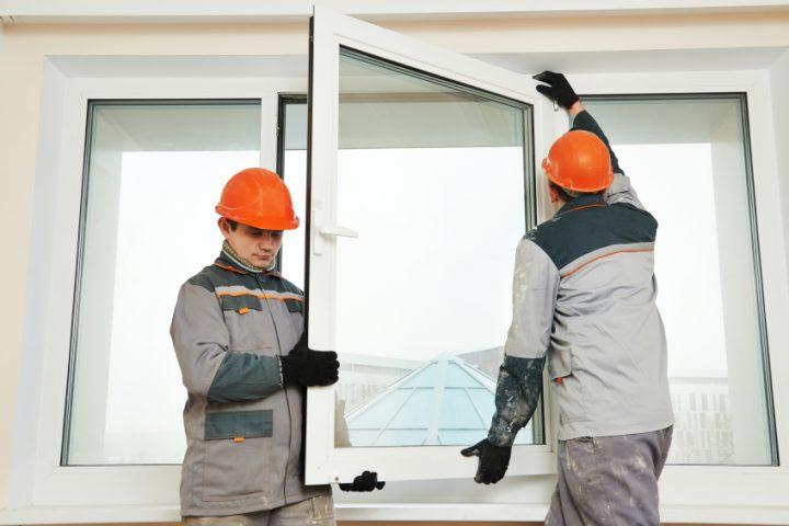 Schwingfenster aushängen