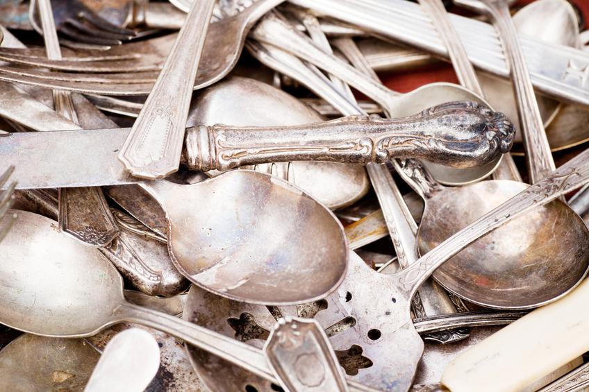 Silber Reinigen Alufolie silberbesteck mit alufolie zum glänzen bringen so geht s