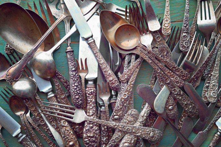Silberbesteck säubern Hausmittel