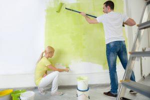 Silikatfarbe für Innenräume