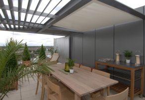 sonnenschutz f r die dachterrasse die optionen im berblick. Black Bedroom Furniture Sets. Home Design Ideas
